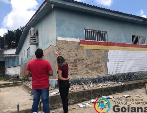 Prefeitura de Goiana está construindo e reformando unidades de saúde