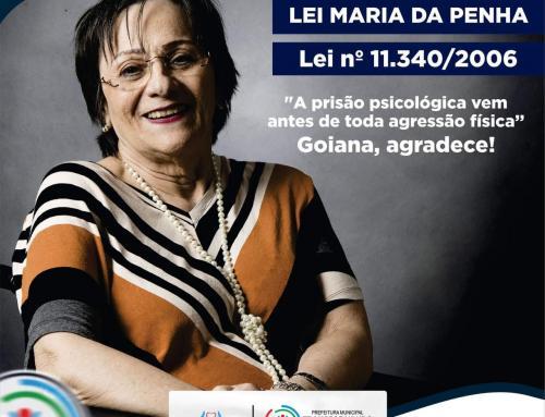 07 de Agosto – 14 anos da Lei Maria da Penha, lei nº 11.340/2006.