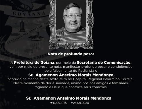 NOTA DE PROFUNDO PESAR